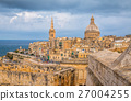 View of Old town Valleta in Malta 27004255