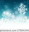 background, snowflake, winter 27004340