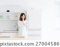 主婦 家庭主婦 廚房 27004586