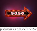 arrow light neon sign 27005157