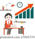 Woman in Office. 27005774