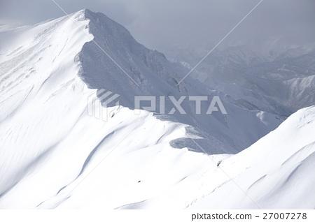 仙노倉山에 능선 (동계) 27007278