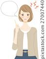 female, lady, woman 27007440