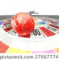 輪盤賭 地球儀 土地 27007774