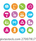 construction icons 27007817