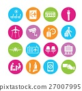 airport icons 27007995