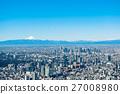 도쿄, 도시, 푸른 27008980