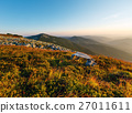 Summer morning mountain view (Carpathian, Ukraine) 27011611