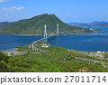 shimanami sea route, tatara bridge, bridge 27011714