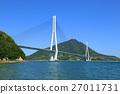 shimanami sea route, tatara bridge, bridge 27011731
