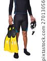 swimwear, fin, snorkeling 27013056