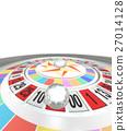 輪盤賭 地球儀 土地 27014128