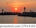 日落 黃昏 海 27014163