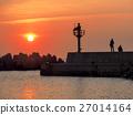 日落的港口 27014164