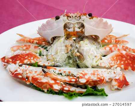 Steamed crab 27014597