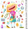 girl, vector, artistic 27015918