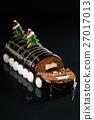 Chrismtas chocolate yule log 27017013