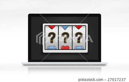 Lotto Slot Machine Jackpot Win Concept 27017237