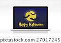 computer, halloween, online 27017245
