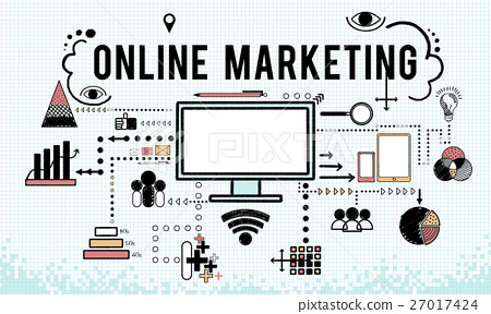 Branding Business Marketing Strategy Concept 27017424