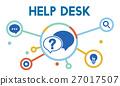 Communication Service Help Desk Concept/ 27017507