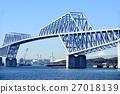 도쿄 게이트 브릿지 쾌청 27018139