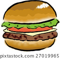 burger, burgers, hamburger 27019965