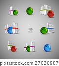 Bowling skittles and bowls 27020907