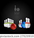 Bowling skittles and bowls 27020910