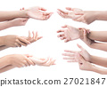 pain in hands,Acute pain in a woman wrist.  27021847