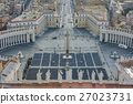 Rome and Vatican in the morning 27023731