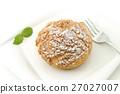 奶油泡芙 甜食 甜点 27027007