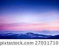 Amazing evening winter landscape 27031710