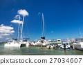码头 小船坞 帆船 27034607