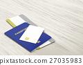 passport, credit, card 27035983