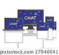 Geometric Font Media Technology Sharing Concept 27040041
