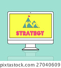 Strategy Success Mission Goals Concept 27040609