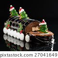Chrismtas chocolate yule log 27041649