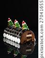 Chrismtas chocolate yule log 27041655