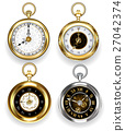 Set of round clock 27042374