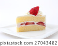 딸기 쇼트 케이크 27043482