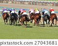 แข่งม้า,ม้า,สัตว์ 27043681