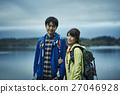 夫婦 海灣 湖 27046928