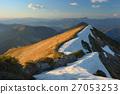 Carpathian Mountains early spring 27053253