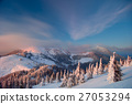 Winter in the Carpathian mountains 27053294