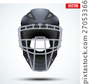 Baseball Catcher Helmet 27053366