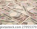 돈 큰 돈 뭉치 부업 본직 금융 경제 만엔 지폐 1 만엔 지폐 壱萬円札 한화 100 만원 만 27055370