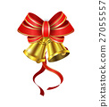 Vector Gold Christmas bells 27055557
