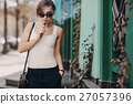 girl with the electronic cigarette 27057396