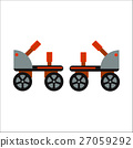 Rollers boot icon isolated 27059292